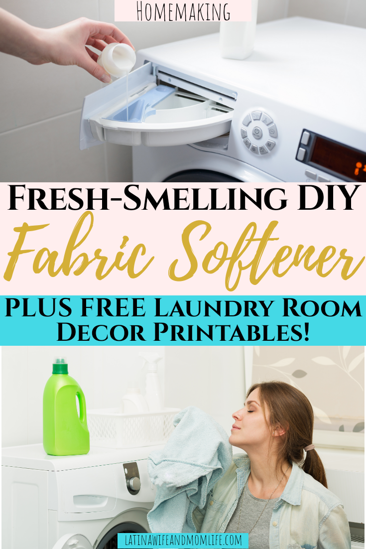 Fresh-Smelling DIY Fabric Softener