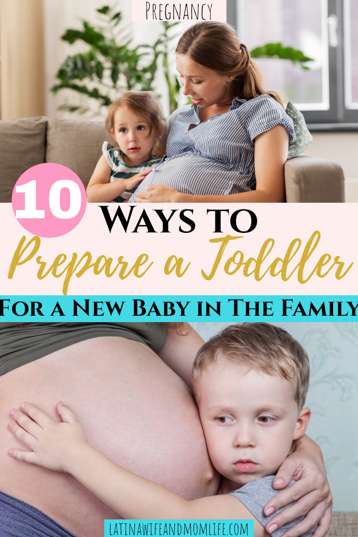 How to Prepare a Toddler for a New Baby in the Family