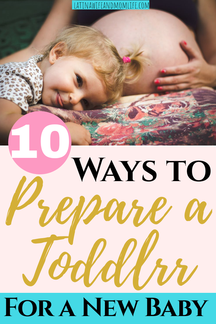 Congrats, you have a baby on the way! Wondering where your toddler fits in all this? Don't miss these 10 Ways to Prepare a Toddler for a New Baby!