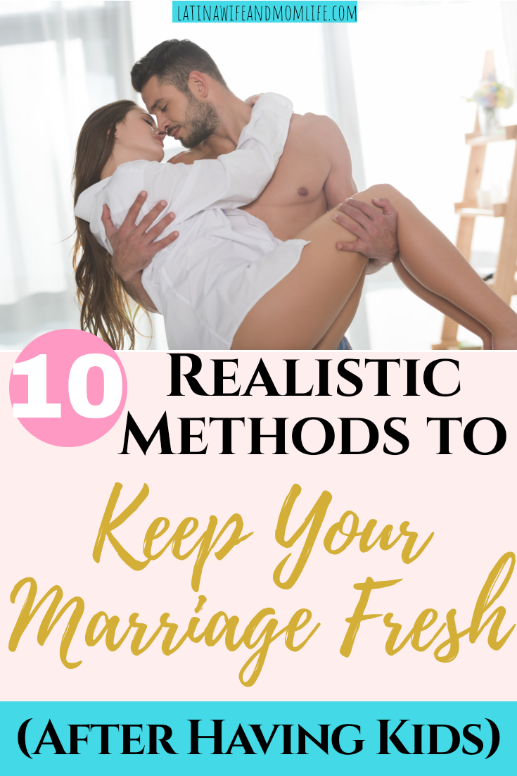How do you live through time and routine and still manage to find ways to spark your marriage? Find out in this post on 10 Ways to Keep Your Marriage Fresh!