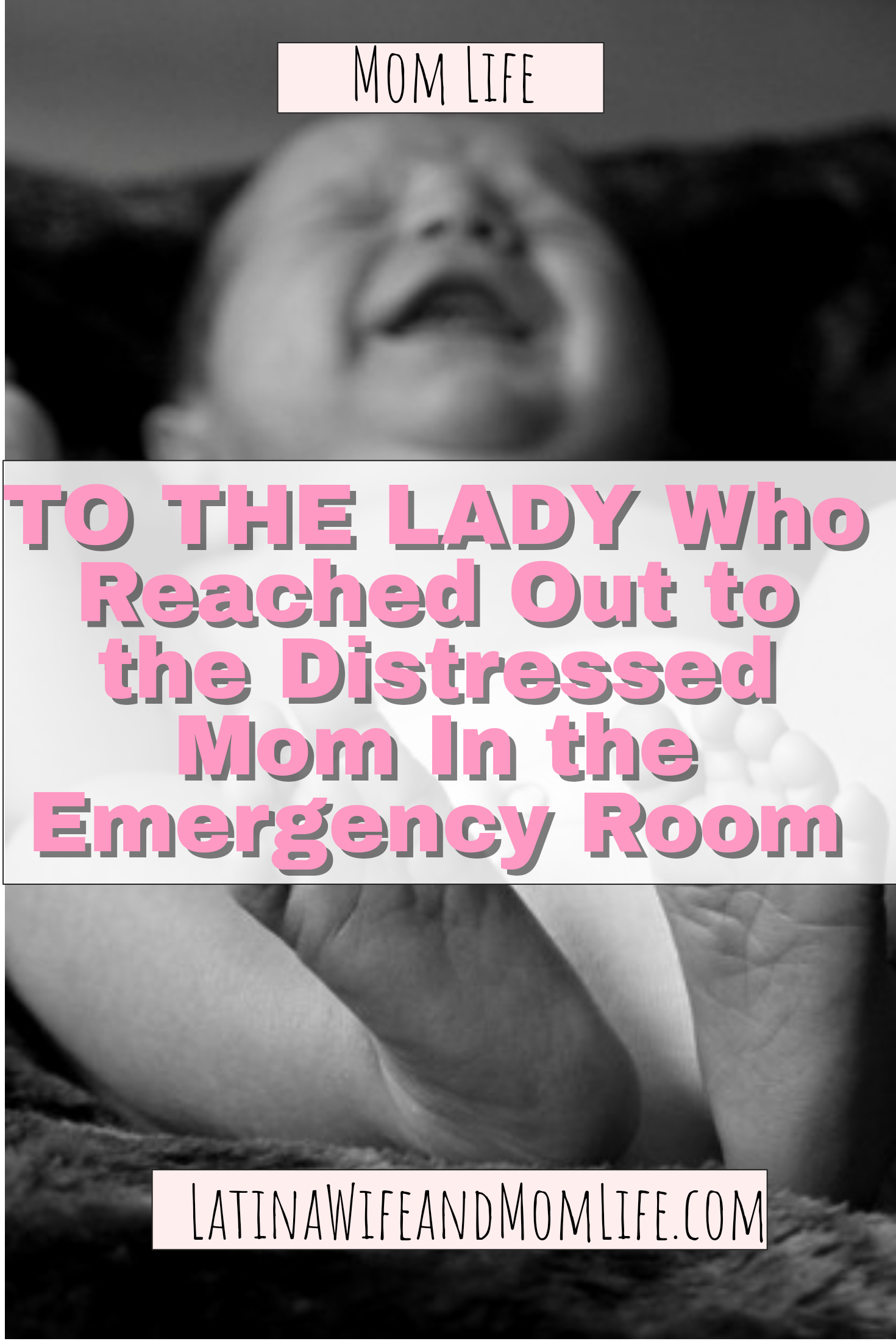Remember the worst day of your life? I was 9 mo pregnant as I held my first born baby in the Emergency. But then this one Lady...Read what she did.