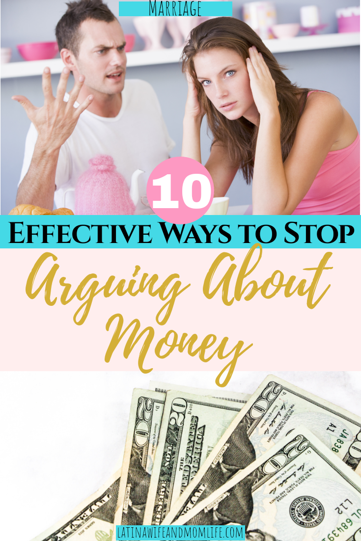 Do you ever just roll your eyes and place your hand on your head when your spouse asks you something like how much money there's left in the account? Don't miss these 4 Simple Ways to Stop Arguing About Money!