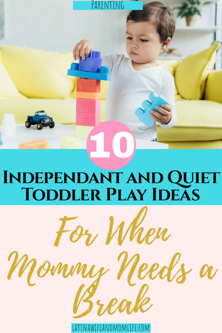 Need a break from the kiddos? These 10 Independant Toddler Play Ideas are a must have!