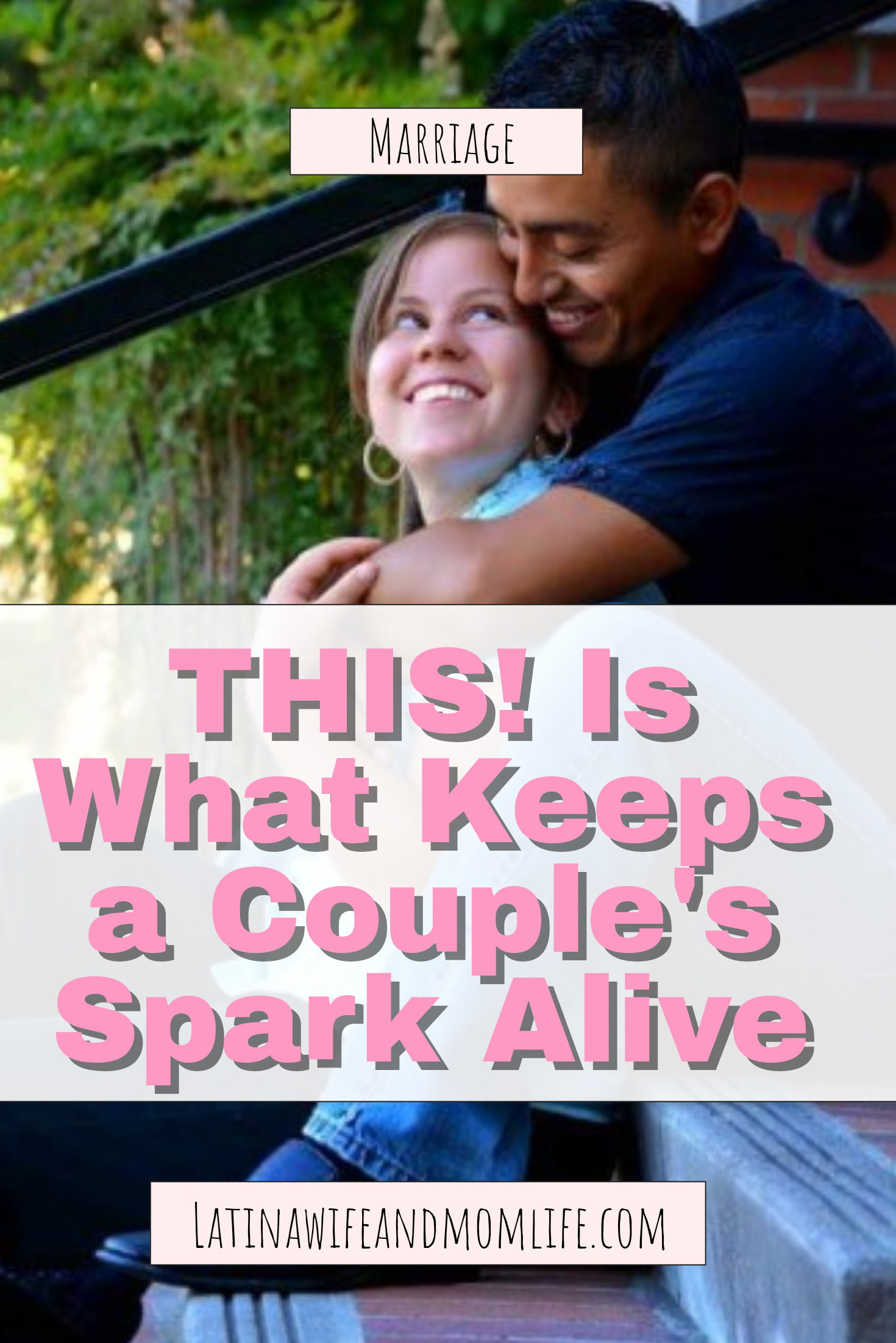 When was the last time you and your hubby acted silly and immature with one another? In fact, how often do you engage in this manner together? My husband and I had one of those moments precisely last night. And he inspired me to share this particularly funny moment of ours with you! How to keep the relationship spark.