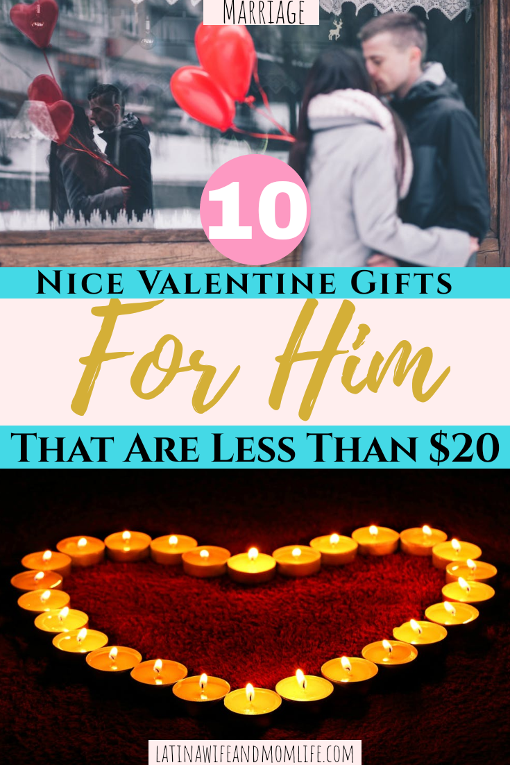 Are you still still recovering from the holiday spending?  Get ready to make this day special at low cost with these 10 Valentine Gift Ideas for Him!
