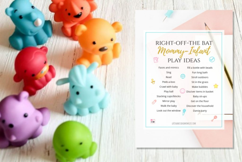 Baby play ideas printable