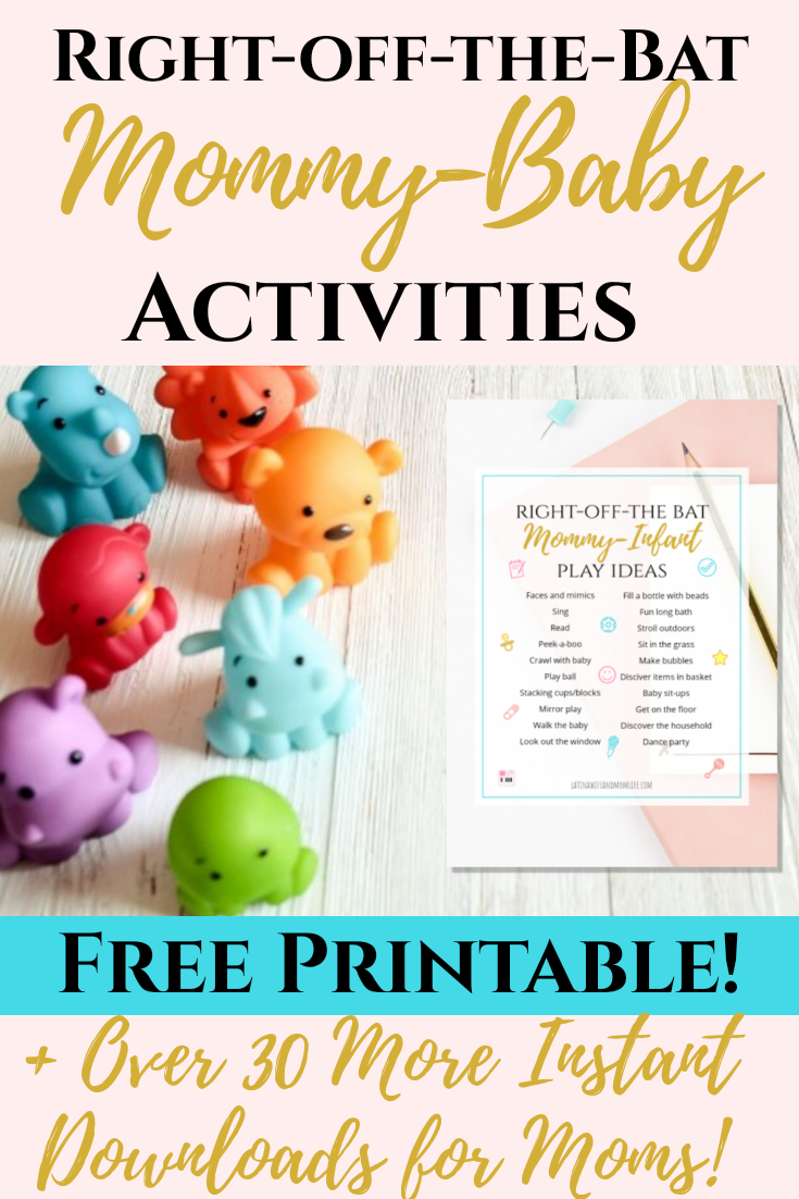Need some age-appropriate activity ideas that will enhance development and bonding in the process? Check out these 6-12 month old activities!