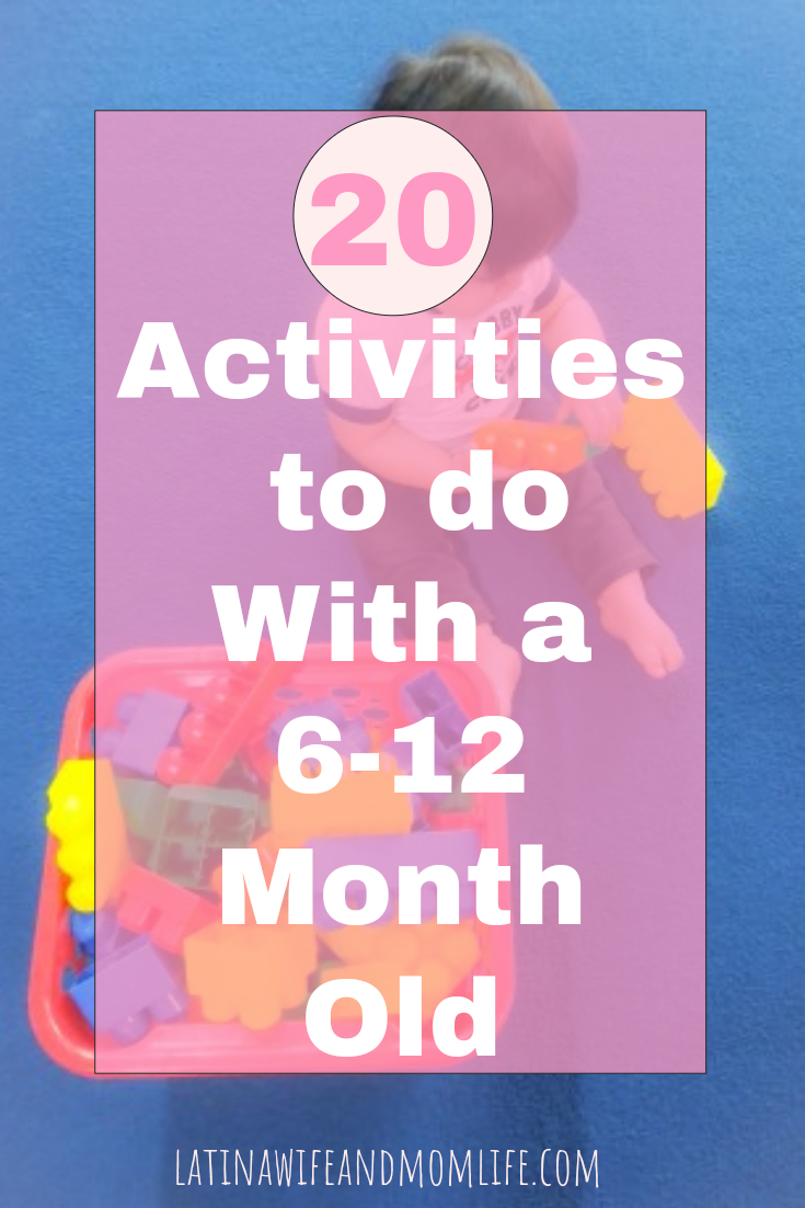 Need some age-appropriate activity ideas that will enhance development and bonding in the process? Check out thse Activites for 6 month olds to Activities for 1 yr olds! 6 month old activities | 1 yr old activities