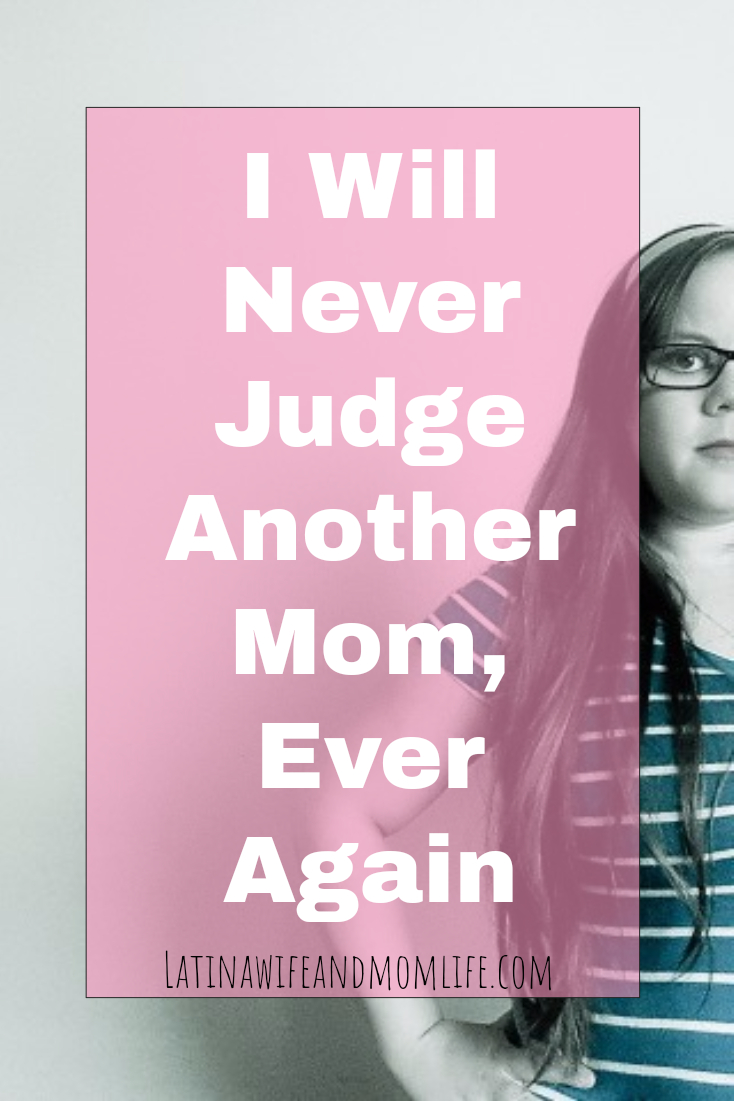 Take a walk in another mom's shoes! A story to remember; no more mom-shaming or being judgemental.