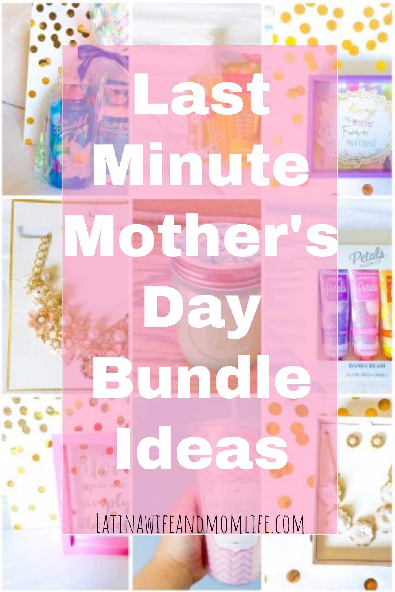Can't come up with the perfect Mother's Day gift? Check out the following ideas to inspire you with appealing ideas for one, happy sized, thoughtfully elaborated gift bundle!