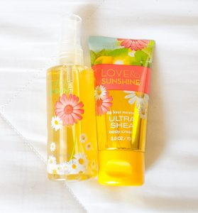 Bath and Body Works Love and Sunshine