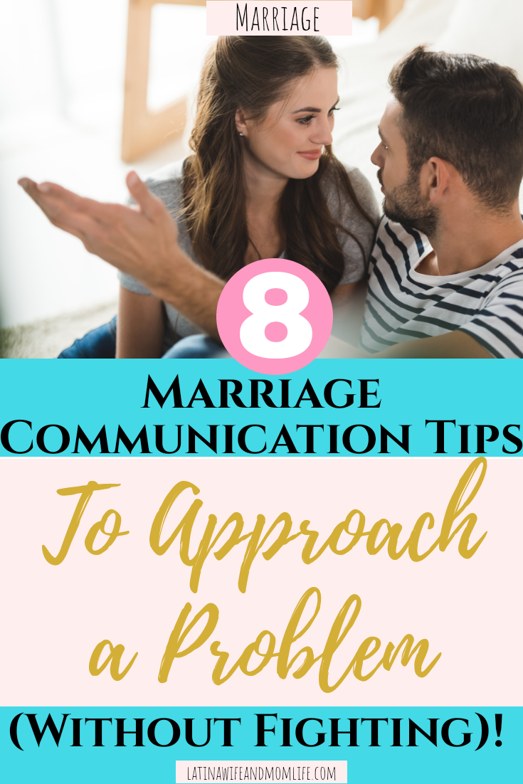 """Do you ever catch yourself bottling things up to """"avoid conflict""""? What if there was a way to avoid conflict such as these 8 Marriage Communication Tips!"""