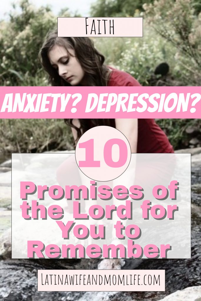Anxiety and depression. You don't care whether the world, your spouse, your friends, your family or anyone else sees it because they wouldn't understand anyway, right? They would just assume you're exaggerating, no? Because the only person who 'gets it', it the one who has been there, isn't it?