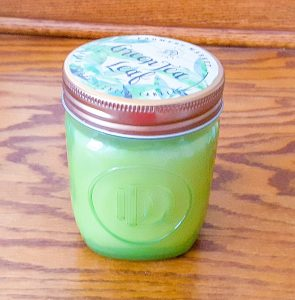 Green Tea Leaf Candle