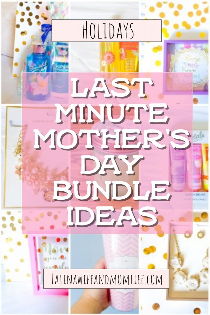 Having trouble planning beforehand what would make the perfect Mother's Day gift? If your in a hurry and the cluelessness paralyzes you, don't miss these Last Minute Mother's Day Gift Ideas!
