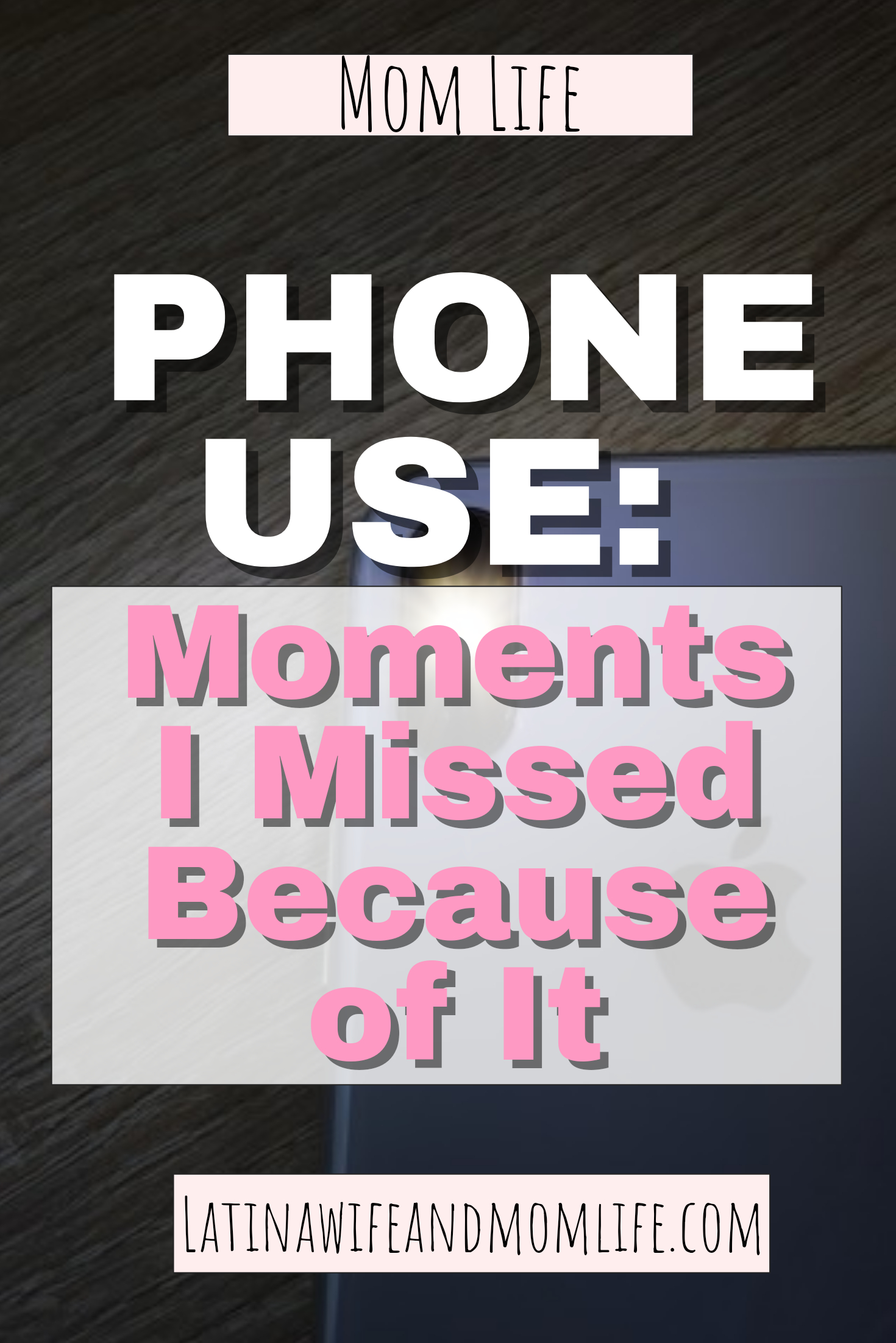 Are you on your phone too much or just tend to pull it out at the wrong time? I have done this repeatedly and have written this post to encourage you to find whether there is something in life you are missing out on because of excessive phone use and how you can fix it!