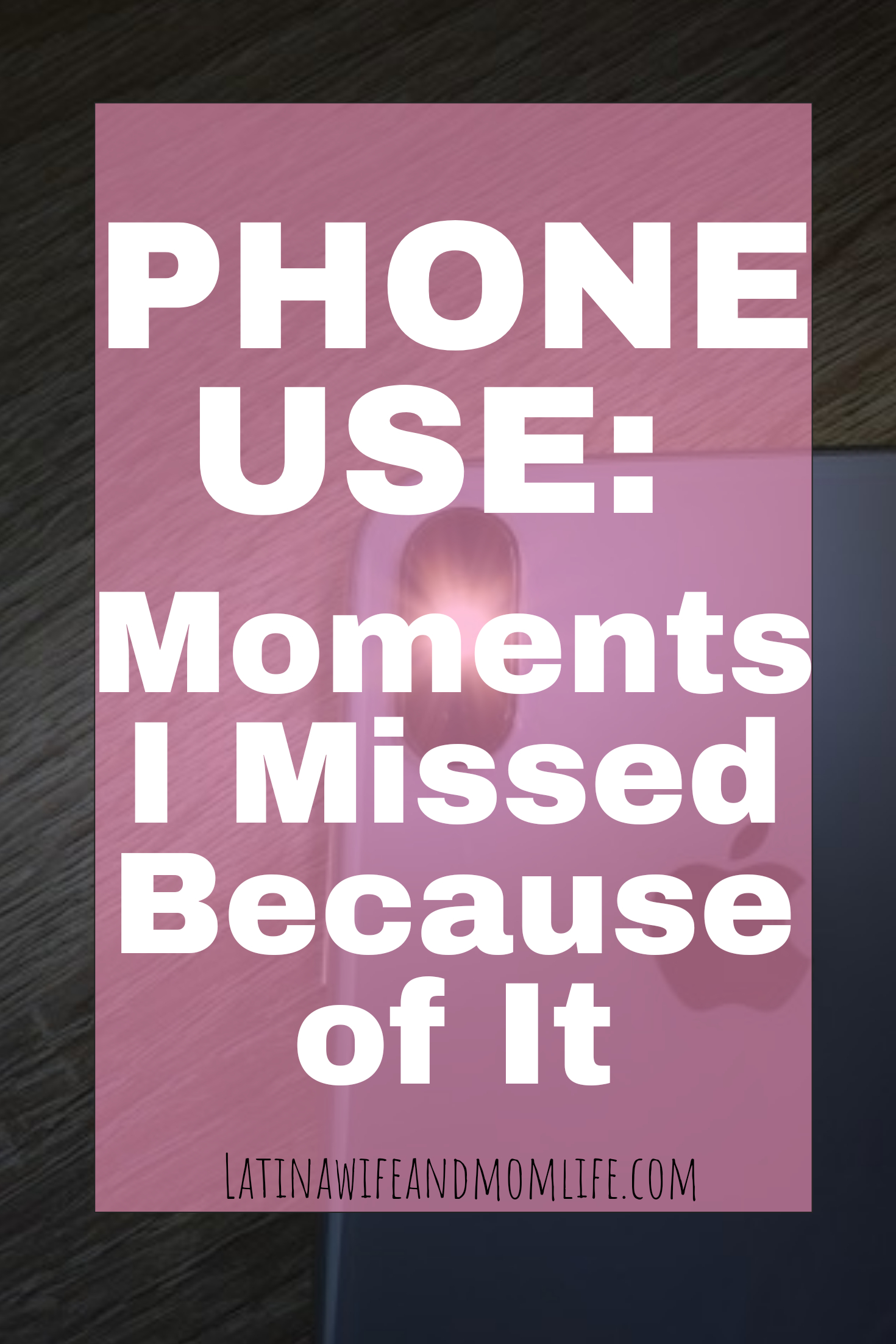 Are you on your phone too much or just tend to pull it out at the wrong time? I have done this repeatedly and have written this post to encourage to find whether there is something in life you are missing out on because of excessive phone use and how you can fix it!