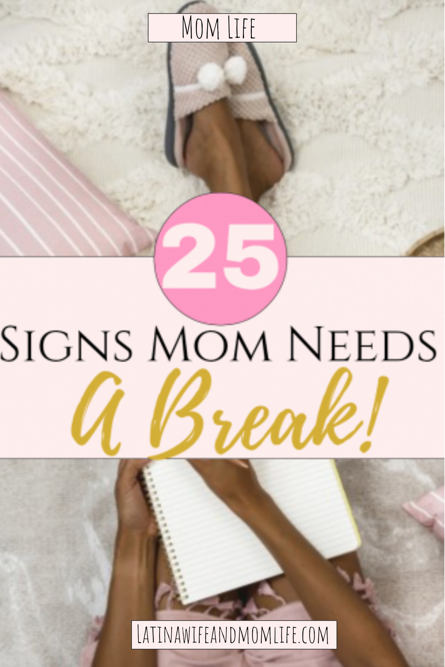 If you have come as far as having to ask yourself when you need a break, chances are you need t now! Are you ignoring any of these Signs Mom Needs a Break?
