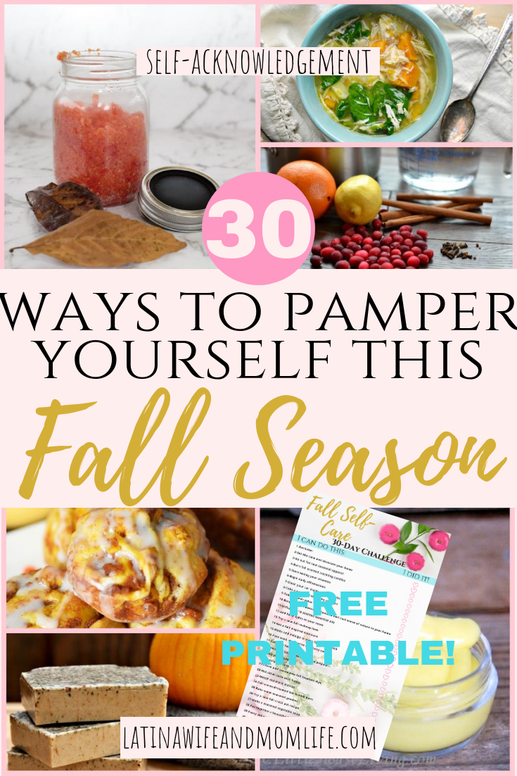 As nature winds down, the stressful season is on it's way. Now more than ever self care is impeimperative, so can't miss these cozy fall self-care ideas!