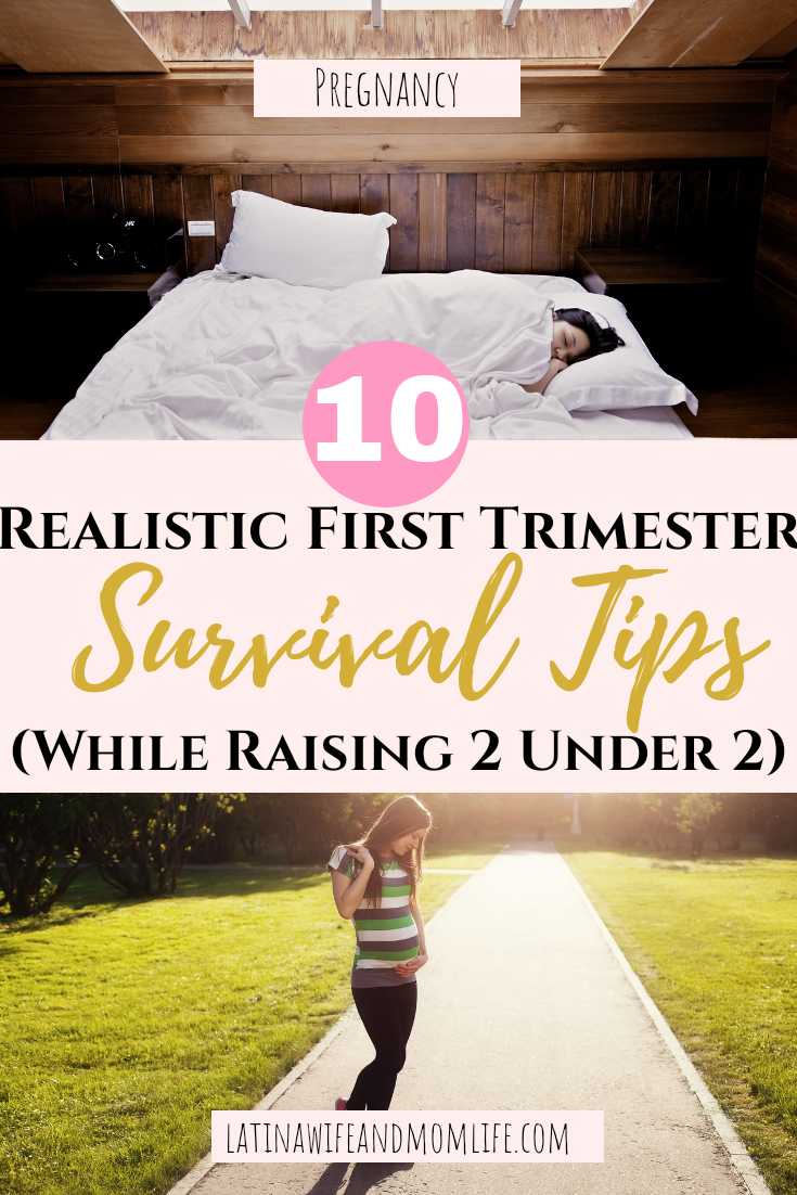 You need First Trimester Survival Tips even when you have no kids, but if you have them and need real solutions to overcome this period, then you will want to hear my first trimester survival tips while raising 2 other babies, don't miss it!
