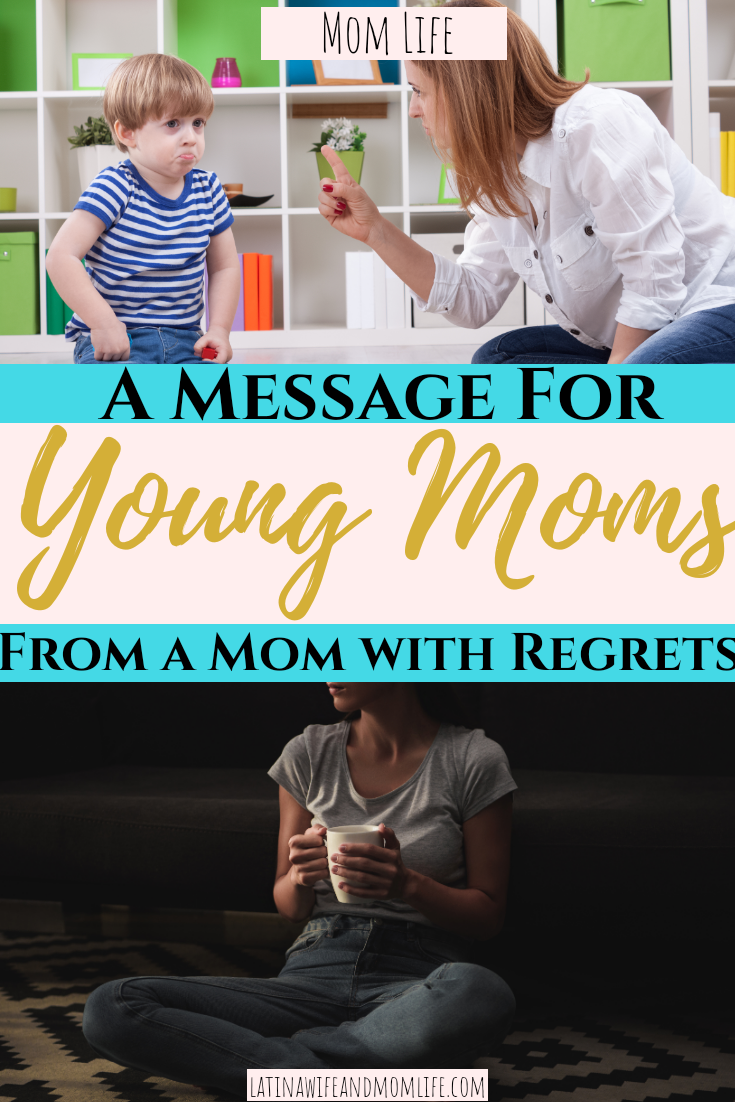 Do you ever want to be a Mom with Regrets from the early years? You will not want to miss this one piece advice that changed my life!