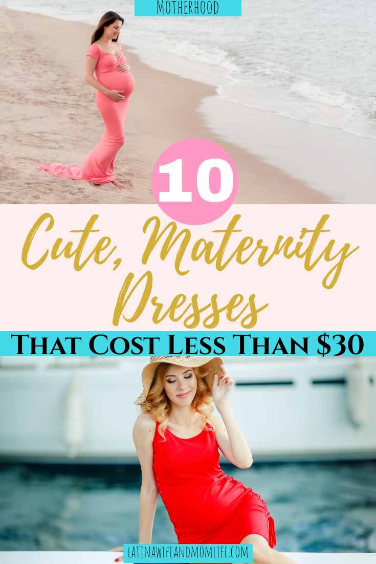 10 Cute maternity dresses under $30