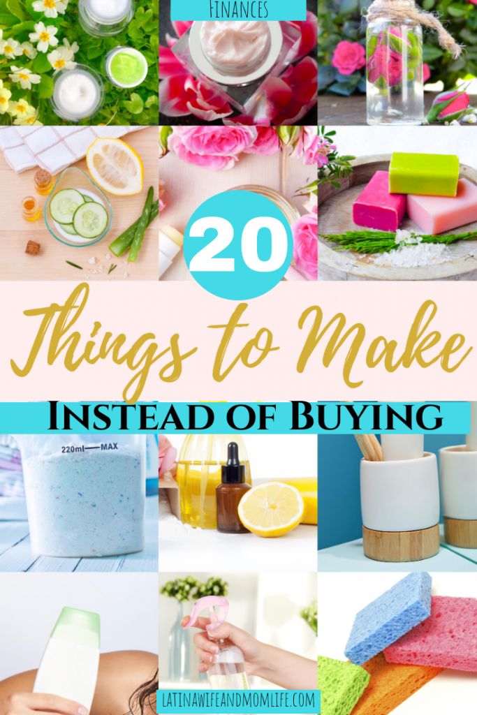 20 things to make insteadnof buy