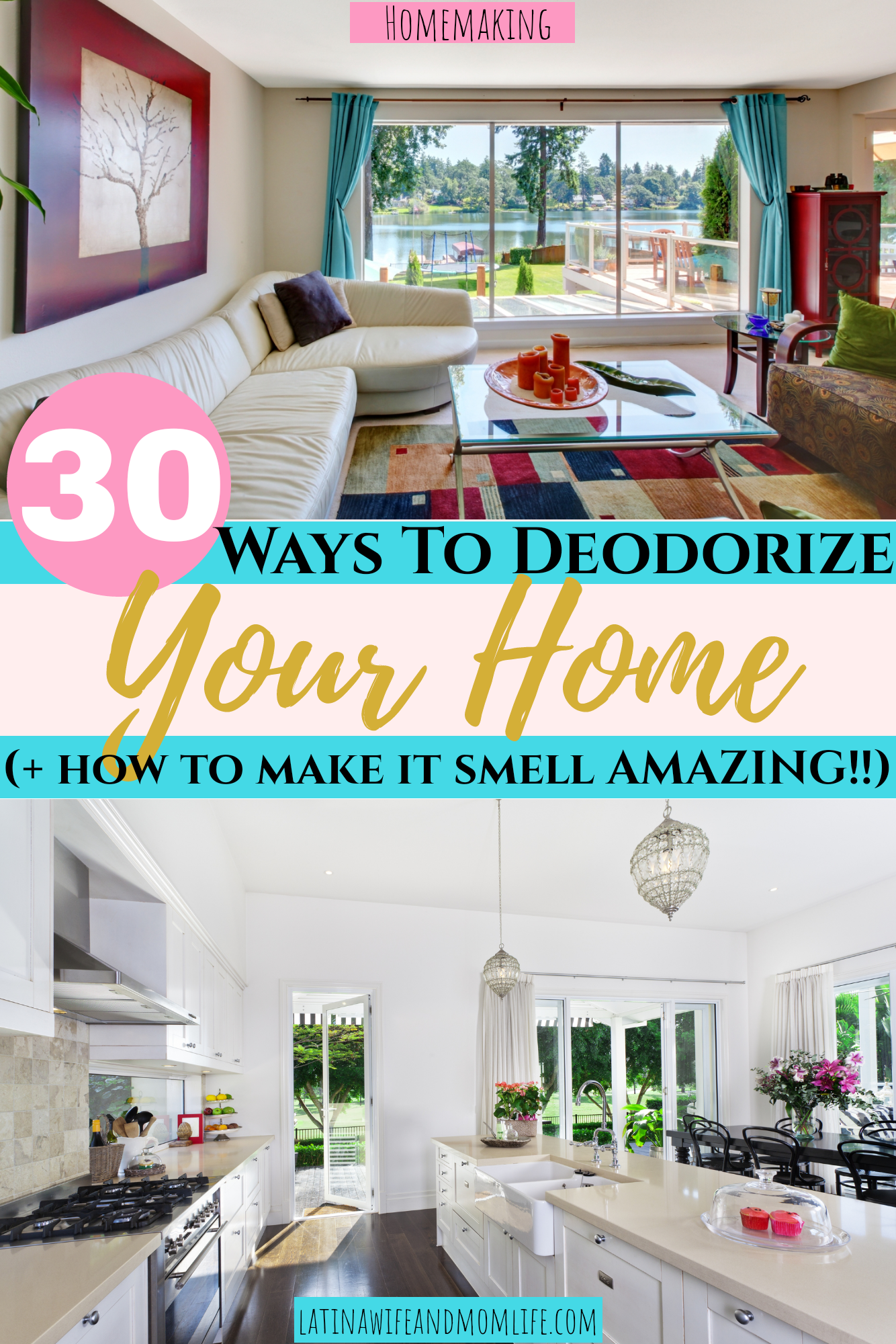 How to deodorize your home